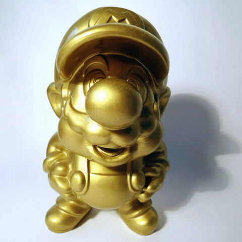 Gold Mario is a  ing pimp.