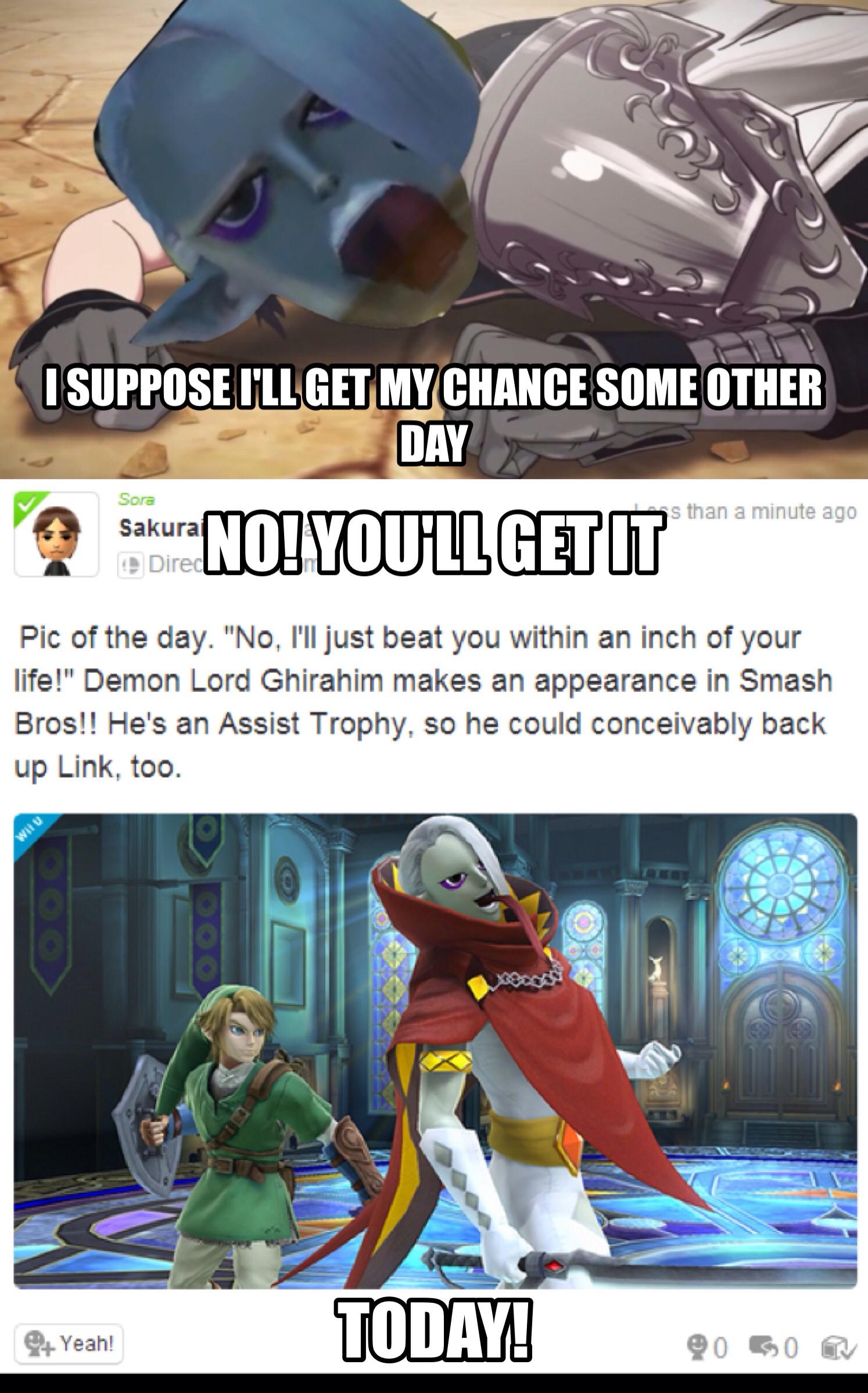 Demon Lord Ghirahim Gamefaqs Super Smash Bros Board