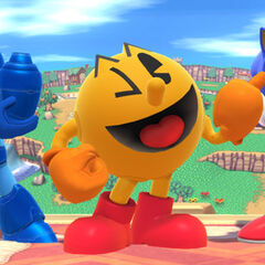 The third-parties at Snake's funeral, the death of whom <b>PAC-MAN</b> may or may not have arranged, considering his pose.