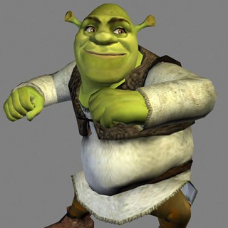 Shrek in-game (or possibly beta model)