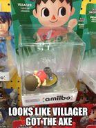 Amiibo Villager 1