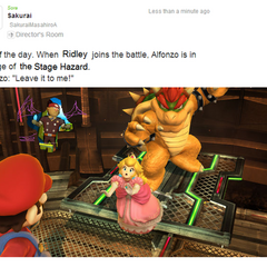 Alfonzo takes over for Ridley!