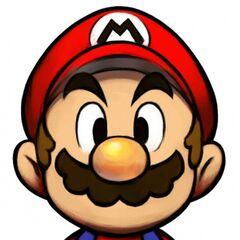 Mario and Luigi Mario close-up, because everyone wanted to see that.