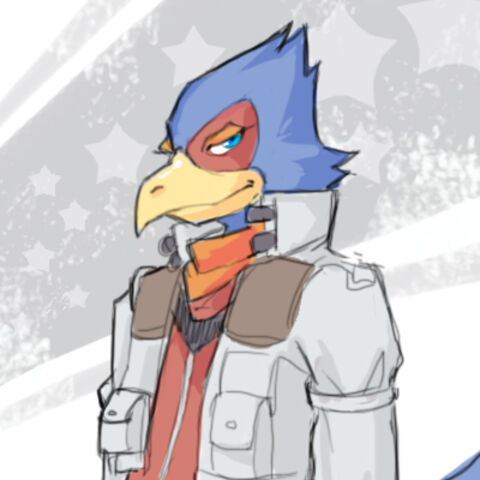Falco in all his glory.