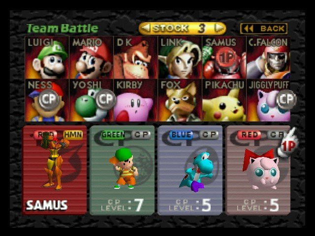 64 Roster