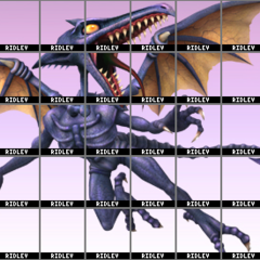 Potential roster featuring Ridley as a newcomer.