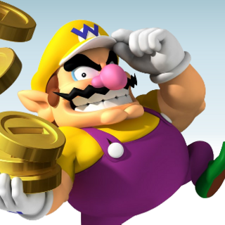 He's the guy in charge of Club Nintendo's bank. Don't worry, your coins are safe with him.