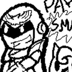 Paper Smash Bros: Luigi, Captain Falcon, Jigglypuff, & Ness