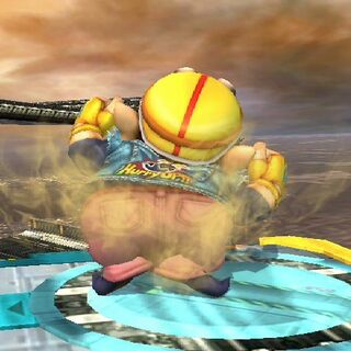 Wario ripping a fart, just wait for HD farts