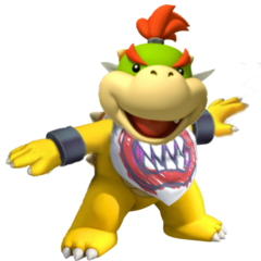 Bowser Jr's sick dance moves. He's better at dancing than you will ever be. Give up life.