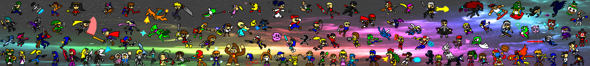 Super Smash Bros  Neo: Reboot - Downloadable Content
