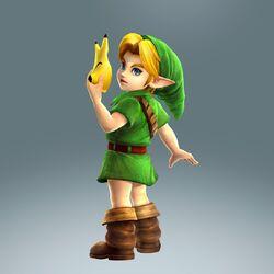 WiiU HyruleWarriors MajorasMaskDLC ChildLink 01-850x850