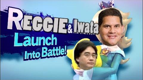 LEAKED! Reggie Fils-Aime Confirmed for Super Smash Bros
