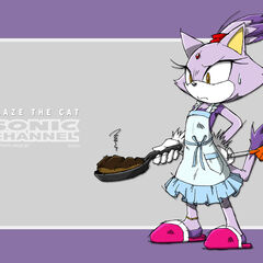 Blaze is bad at cooking.