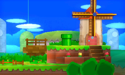 Paper Mario (Stage)   GameFAQs Super Smash Bros  Board Wiki