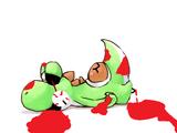 Yoshi is Cut