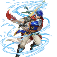 His special attack art in Heroes.