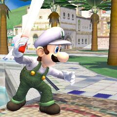 Not a picture of his, But Luigi is gettin ready to slap some hoes