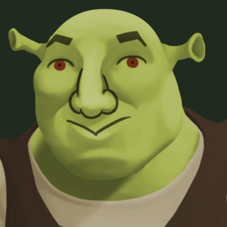 Schrick, the long-lost cousin of Shrek rumored to actually be <a class=