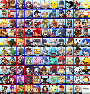 109 Character Roster