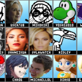 Melee's roster if it was made of GameFAQs users.