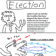 How Ridley became leader of the Space Pirates