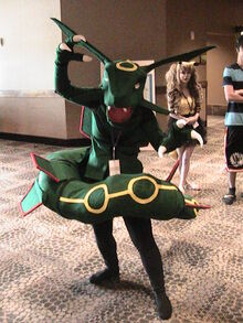 Rayquaza cosplay