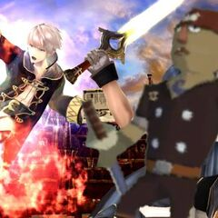 Chrom joins the battle.