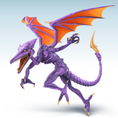 Ridley's Smashified art. Probably the best they did tbh. Certainly better than the Banjo one.