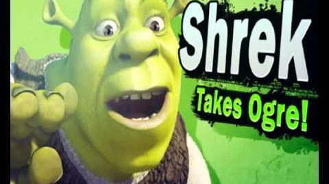 Shrek reveal trailer - Super Smash Bros For Wii U and 3ds