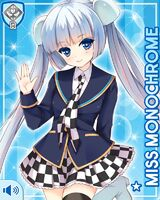 Miss Monochrome Stock R Card