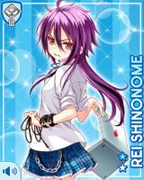 Shinonome Rei Stock (R+) Card