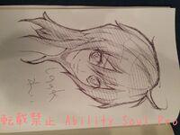 Shinonome Rei drawn by Kitamura Eri