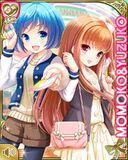 仲良し Momoko and Yuzuko