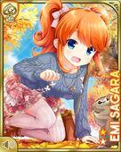 紅葉のリス園+ Emi