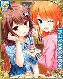 仲良し Kokomi and Emi