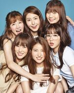 GFRIEND July Issue 2016