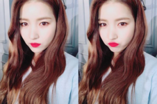 Sowon Insta Update Jan 26, 2018