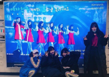 Yerin, Eunha, Yuju and SinB Insta Update Jan 16, 2018 (4)