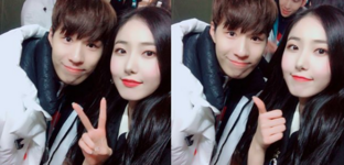 SinB and Hwang Dae Hyun Insta Update Feb 26, 2018