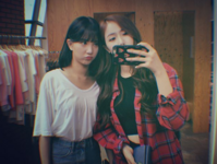 Eunha and SinB Insta Update Aug 17, 2017
