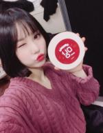 Eunha Insta Update Jan 7, 2018