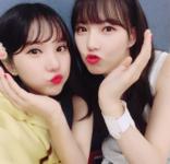 Yerin and Eunha Insta Update Aug 10, 2017 (1)