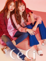 Sowon and Yerin CéCi Magazine September 2016 Issue