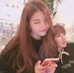 Sowon and Yerin Insta Update Jan 12, 2018