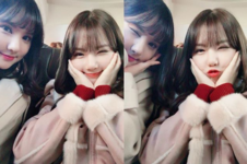 Yerin and Eunha Insta Update Nov 1, 2017
