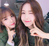 Eunha and SinB Insta Update Jun 3, 2017 (2)