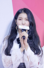 Sowon speaking at MMA 2017 Red Carpet