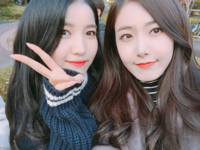 Sowon and SinB Insta Update Nov 13, 2017 (1)