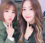 Eunha and SinB Insta Update Jun 3, 2017 (1)